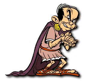 Destructivus, Tullius - Asterix Archiv - Lexikon