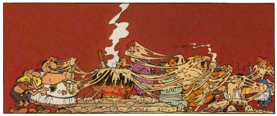 Asterix in Switzerland: Album 16 by Rene Goscinny (English) Hardcover Book