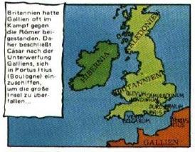 Britannien Karte