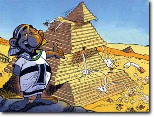 pyramide bauen