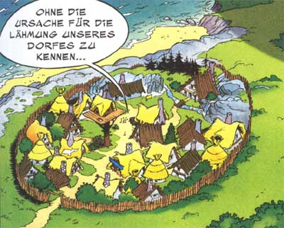 Themenbereich - Asterix Archiv - Lexikon - Das Gallierdorf