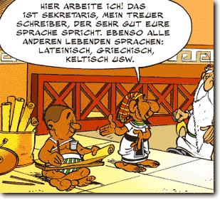 römische zahlen asterix