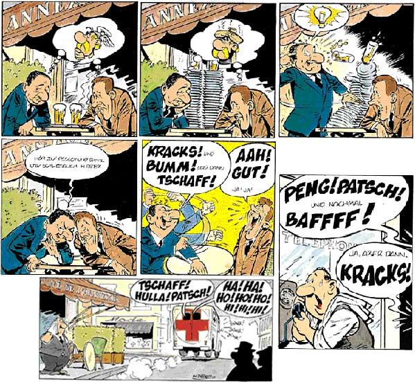 Geschichte von Erwachsenen Comics