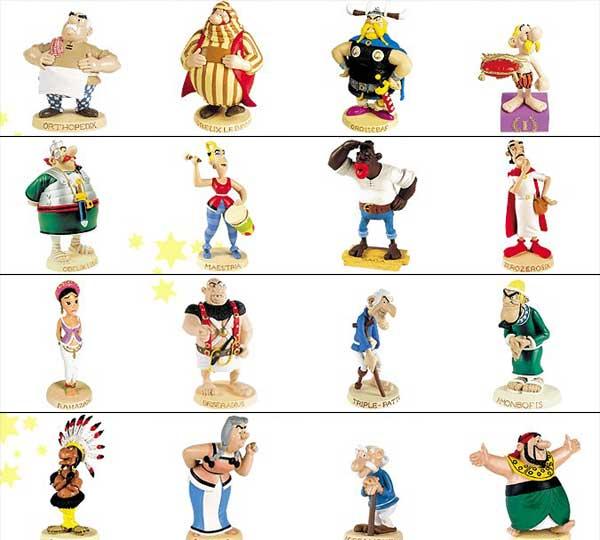 Asterix Reihenfolge