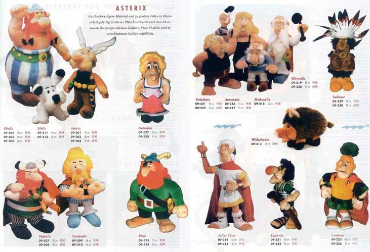 Figur Asterix mit wildschwein Asterix