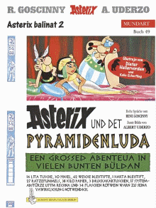 Berlinerisch ii asterix und det pyramidenluda asterix - Numerobis architekten ...